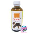 อาหารเสริม วิตามิน บำรุงขน และรักษาโรคผิวหนัง สำหรับสัตว์เลี้ยง ชนิดน้ำ 120 ซีซี