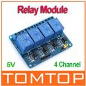 4 Channel 5V Active Low Relay Module Board