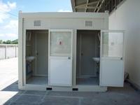 ตู้คอนเทนเนอร์ ห้องน้ำ 3 x 3 เมตร (มีสินค้า 3 ห้อง)