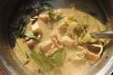 ต้มข่าไก่ใส่หัวปลี กับข้าวคนยากมื้อปลายเดือน