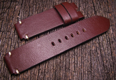 Strap For Seiko Monster and Sumo.Calf Brown Color
