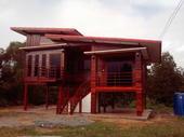 ผลงานสร้างบ้านอยู่อาศัย ลูกค้าในโครงการ ม.วงทองเลคไซด์ ถนนลพบุรีราเมศวร์ ต.น้ำน้อย อ.หาดใหญ่ จ.สงขลา