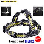 สายคาดหัว Nitecore HB02 สำหรับไฟฉายขนาดเล็ก