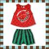 ชุดหนูน้อย Summer Collection (Watermelon)