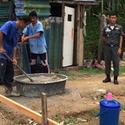 สร้างบ้านให้ผู้ประสบภัยน้ำท่วม