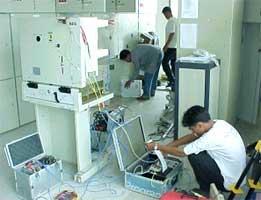 22 kV Circuit Breaker Timing Test