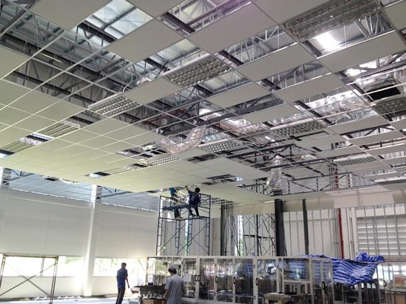 Install lighting At TOACS