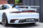 ดิฟฟิวเซอร์ Porsche 992 Carrera ทรง Techart