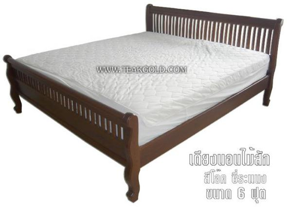 เตียงนอนไม้สักซี่ระแนงหัวม้วน_012