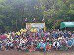 ร่วมโครงการปลูกป่าและป้องกันไฟป่า ดำเนินการในพื้นที่ป่าอนุรักษ์บริเวณอุทยานแห่งชาติศรีลานนา