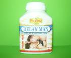 ยาชะลอการหลั่งและแก้อาการหลั่งเร็วชาย DELAY MAN (30แคปซูล)