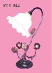 ไฟตั้งโต๊ะพันดอกบัวใส่ระฆังเล็ก