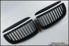 E90 Matt Black Kidney Grille