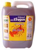 Seafood brand fish sauce : Gallon 4,500cc.
