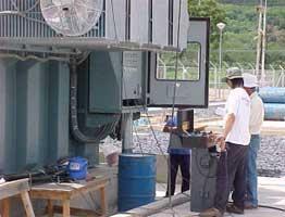 115 kV Power Transformer Power Factor Test