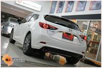 Mazda3skyactive จากชะอำเดินทางมาอัพเกรดระบบเสียงโดยใช้วิทยุเดิม ไม่เน้นหนัก แต่ขอฟังครบๆทุกรายละเอียด และไม่เสียพื้นที่ใช้สอย เลยจัดกันไปกับชุดนี้ครับ