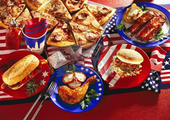 อาหารแบบชาวอเมริกัน