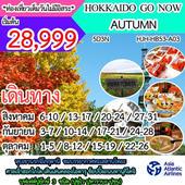 HOKKAIDO GO NOW AUTUMN เดินทาง สิงหาคม - ตุลาคม 2560