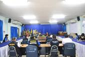 ประชุมกำนันผู้ใหญ่บ้าน ผู้นำชุมชน ตำบลปิงโค้ง ประจำเดือน ตุลาคม 2564