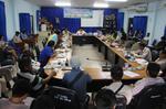 ประชุม กำนัน ผู้ใหญ่บ้าน ผู้ช่วยผู้ใหญ่บ้าน ประธานชุมชน ประจำเดือน ธันวาคม 2558