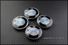 BMW Carbon Wheel Center Caps [Blue]