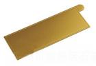 แผ่นรองเค้กสีทอง ทรงสี่เหลี่ยมผืนผ้า
