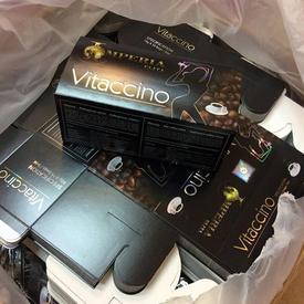 Vitaccino Slimming Coffee กาแฟ ไวแทคชิโน่ อีริต้า กาแฟกล่องดำ