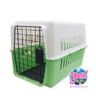 กล่องใส่สัตว์เลี้ยง กล่องใส่หมา กล่องใส่แมว สีเขียว size M ขนาด กว้าง 12.5 นิ้ว ยาว 19 นิ้ว สูง 13 นิ้ว