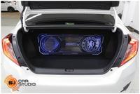 Civic Fc 1.8E เปลี่ยนจอพร้อมจัดเต็มระบบเสียง
