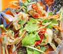 NO. SS37 ยำปูม้า (Spicy salad with blue crab)