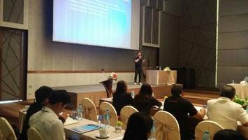 เปิดบูธงานสัมนา #5 ของการประชุมสมาชิกสมาคมโรงแรมไทยภาคตะวันออก
