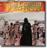 The Legend of Sci-Fi Heroes at The Mall 2009