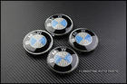 BMW Carbon Wheel Center Caps [Blue]