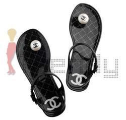 รองเท้าแตะ Chanel