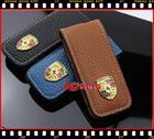 ซองหนังใส่กุญแจรถ  porsche คาเยนน์ จีทีเอส (Cayenne GTS)  พอร์ช หรือ ปอร์เช่,Panamera สีน้ำตาล
