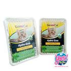 หญ้าแมวไฮโดร Hydro-Gras ยี่ห้อGimCat ปลูกง่าย ไม่ง้อแดด นำเข้าจากเยอรมัน ขนาด150กรัม = จำนวน 2 ถาด