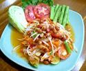 ืNO. SS15 ส้มตำไทย (Thai style papaya salad)
