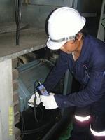 บริการวัด Vibration For Aircompressor