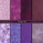 ผ้าคอตตอนนอกจัดเซ็ท Grape Set (8ชิ้น)