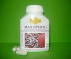ยาแก้มีบุตรยากในชาย เพิ่มน้ำอสุจิ ช่วยให้ตัวอสุจิแข็งแรง MAX SPERM (60แคปซูล)