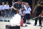 โครงการอบรมสาธิตการใช้เครื่องดับเพลิงและก๊าซหุงต้ม ณ โรงเรียนศิริวิทยา