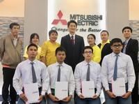 รับทุนเรียนดีมีอาชีพ จากบริษัท Mitsubishi Elezator Thailand