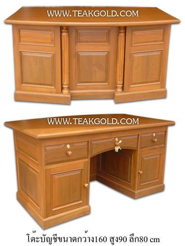 โต๊ะบัญชีไม้สัก_003