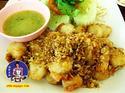 หอยเชลล์ทอดพริกไทยกระเทียม สูตรสินธุสมุทร