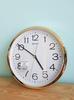 Seiko นาฬิกาแขวนฝาผนัง ขนาด 12 นิ้ว ขอบทอง สำหรับสำนักงาน PDA014GT