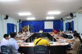 ประชุมกำนันผู้ใหญ่บ้าน ผู้นำชุมชน ประจำเดือน กรกฎาคม 2563