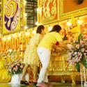 พิธีวางพานพุ่ม วันพ่อแห่งชาติ 2557