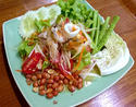 NO. SS19 ส้มตำทะเล (Papaya salad with Mixed Seafood)