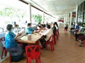 ประชุมเพื่อตรวจสอบความพร้อมสถานที่โรงพยาบาลสนาม